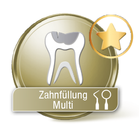 Zahnfüllung Multi