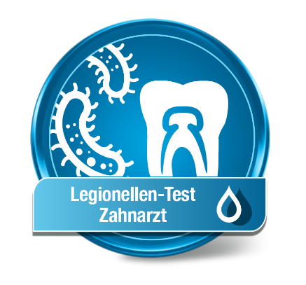 Zahnarzt Wassertest Legionellen (Dental)