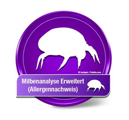 Milbenanalyse Allergennachweis Erweitert