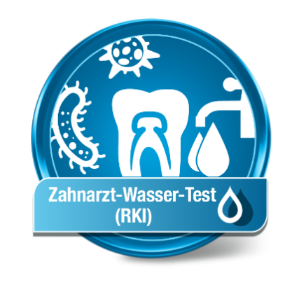 """Zahnarzt Wassertest """"RKI"""""""
