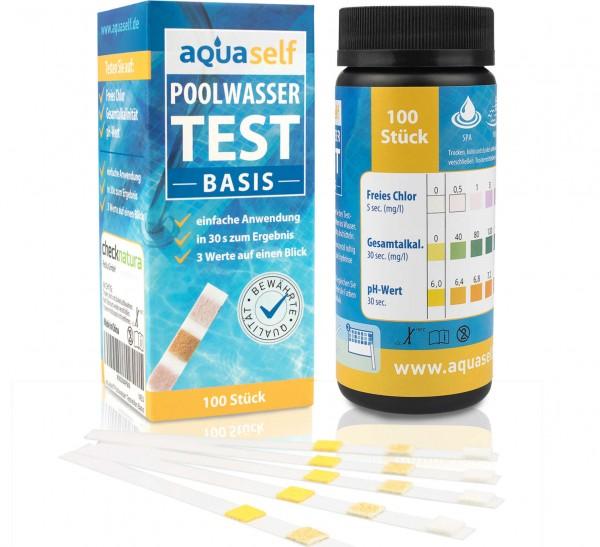 aquaself Pool Wasserteststreifen Basis