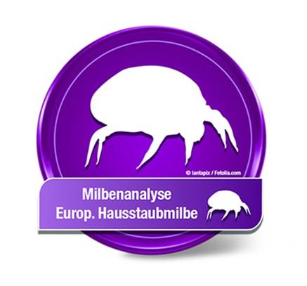 """Hausstaubmilben Test, europ. Hausstaubmilbe """"Der p1"""""""