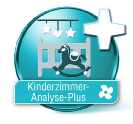 Luftanalyse Kinderzimmer Plus